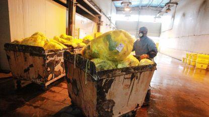 Ruim 40 procent extra medisch afval door coronacrisis