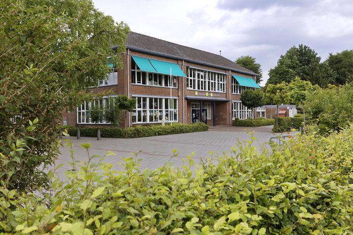 De Lambertusschool Gemonde. Ook de nieuwe multifunctionele accommodatie hier zal het met tien procent minder geld moeten doen.