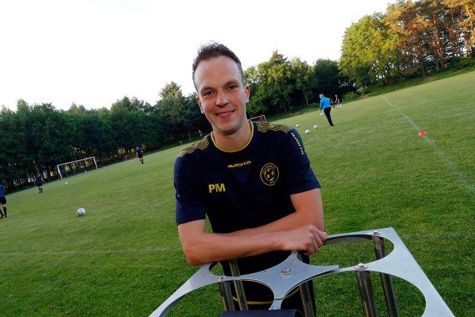 Piet Michielse was matchwinner voor Bergeijk in de bekerwedstrijd tegen GSBW.