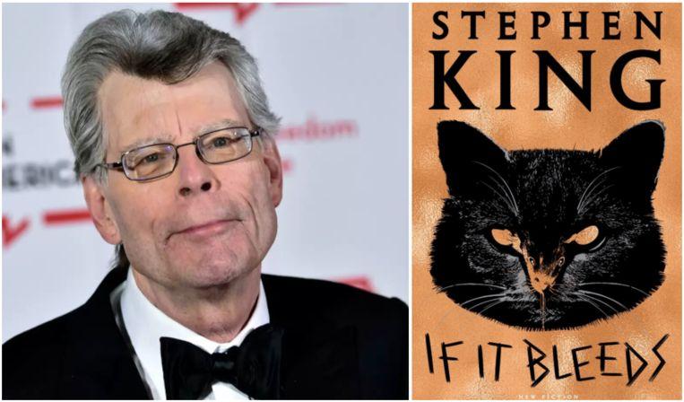 Stephen King deelde de cover van zijn nieuwe boek dat in mei volgend jaar uitkomt alvast via Twitter.