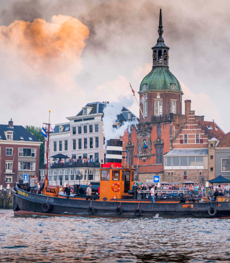Tweede dag Dordt in Stoom: 'Mijn hart klopt sneller van schepen'