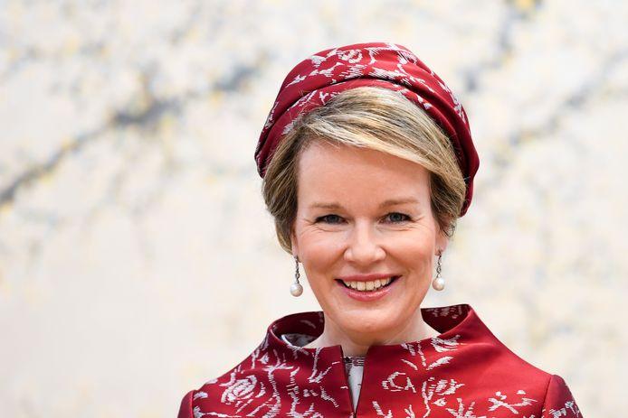 Koningin Mathilde is momenteel, samen met koning Filip, op staatsbezoek in Zuid-Korea.