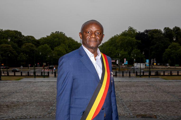 Pierre Kompany, burgemeester van Ganshoren.