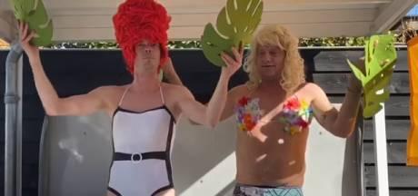 Pascal (41) speelt dagje Efteling na met vrienden en gaat viral: 'Even wat anders dan die corona-ellende'