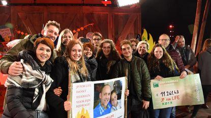 JP for Life brengt ruim 11.000 euro aan rosse centjes op