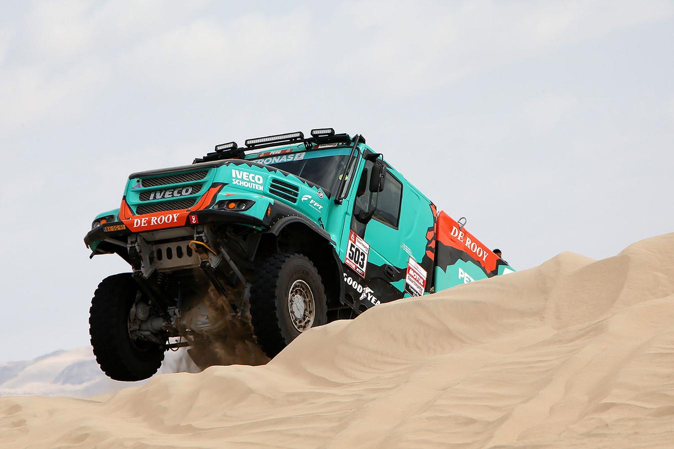 Gerard de Rooy in de Dakar Rally 2019.