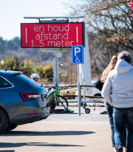 Er komen vaker experimenten met het verkeer op de Posbank