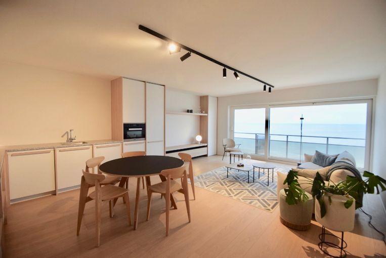 Een appartement op de dijk in Knokke kostte vorig jaar gemiddeld 829.753 euro.