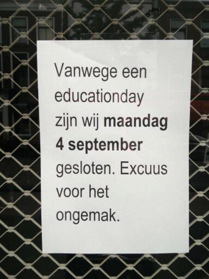 Education day.