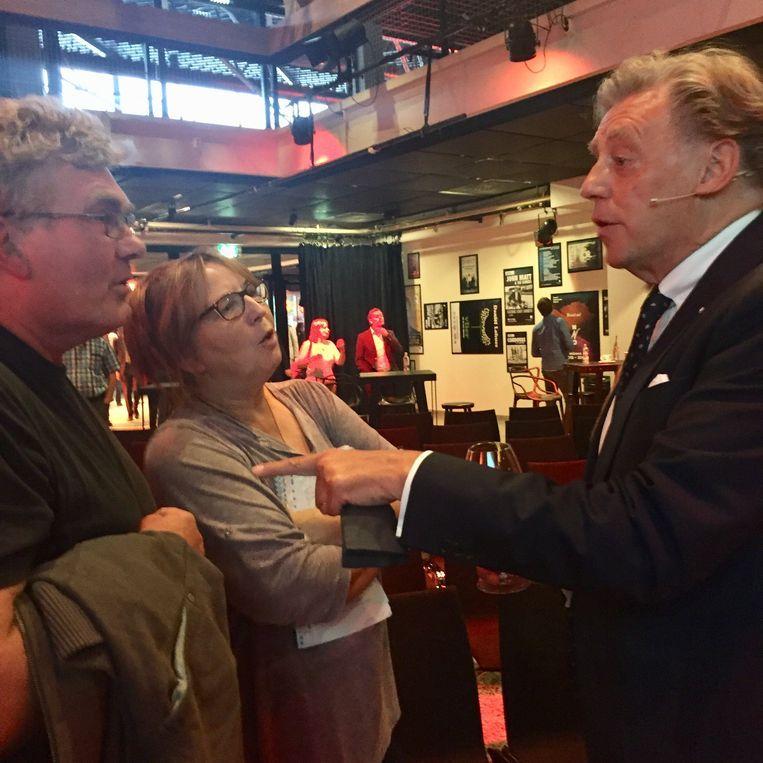 Ed Nijpels ontmoet Lies Zondag Beeld Toine Heijmans