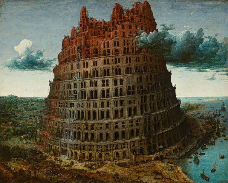 De toren van Babel van Pieter Bruegel de Oude is het bekendste werk van Boijmans Van Beuningen. Beeld RV - Collectie Museum Boijmans Van Beuningen in Rotterdam