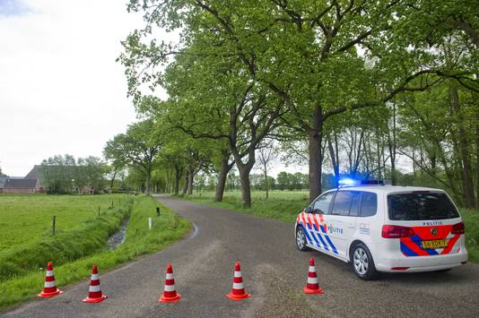 De politie had de omgeving afgezet.