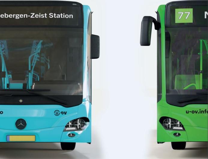 Zes drukke buslijnen in de Utrechtse regio krijgen vanaf december een eigen kleur