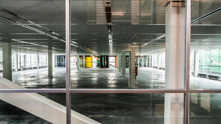 Steeds minder kantoorruimte in de stad staat leeg. Beeld Floris Lok