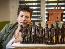 Losserse kunstenares Mathilde Damhuis geeft Poaskearls een gezicht