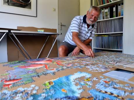 Puzzelexpert Jan (69) werkt al anderhalf jaar aan giga-exemplaar van 33.600 stukjes: 'Deze heb ik af in april 2021'