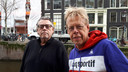 De makers van de documentaire  'Met de groeten uit Dubai' over Roger Lips. Hans Perukel en Peter Olsthoorn (rechts).