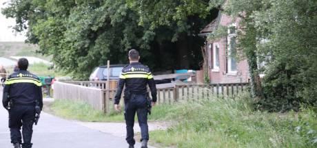 Drugs ontdekt in container achter boerderij bij Apeldoorn