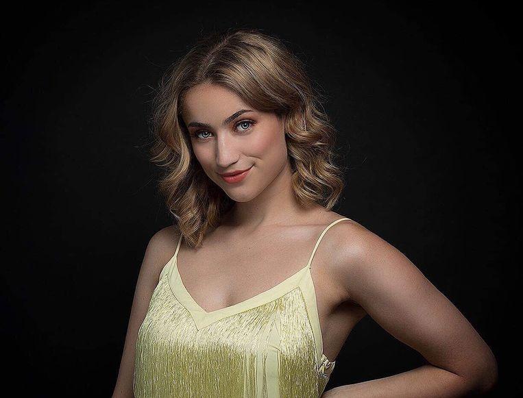 De foto als finaliste van Miss Exclusive