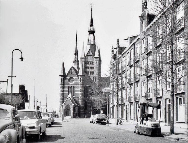 Maria Magdalenakerk, ca. 1965.  Beeld Stadsarchief