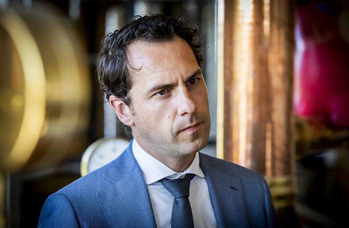 Staatssecretaris Martijn van Dam.