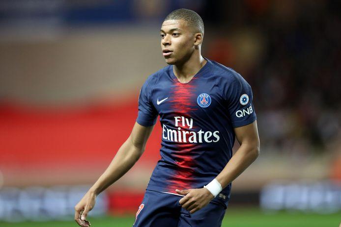 Kylian Mbappé mocht gisteren niet in actie komen tegen Nantes. In de titelmatch van zondag wordt hij wel weer aan de aftrap verwacht.