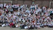 Kinderen gemeenteschool lopen boosheid van zich af