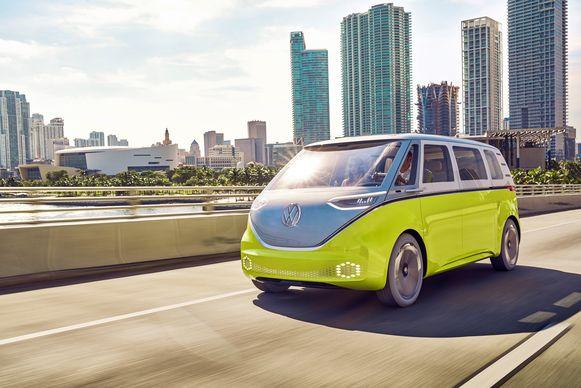 Ook een elektrische 'VW Bus' staat op de planning, geïnspireerd op de aloude 'Hippie-Transporter'.