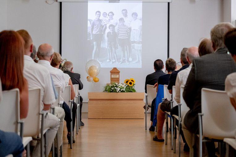 De begrafenisplechtigheid vond plaats in Aula Erica van afscheidscentrum Kloosterheide.