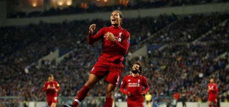 Van Dijk maakt kans op 'Player of the Year'-award in Premier League