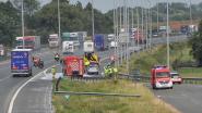 Oprit autosnelweg E17 richting Gent afgesloten na ongeval in Kruishoutem