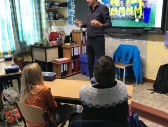 'Pol De Tremmerie' uit FC De Kampioenen op bezoek in De Cocon Rieme