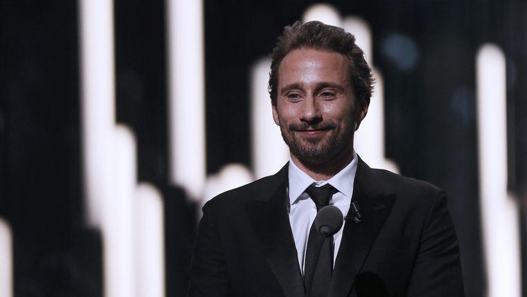 Matthias Schoenaerts mocht vorige week een onderscheiding uitreiken bij de Césars, de Franse nationale filmprijzen.