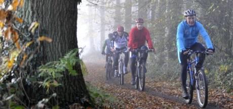 Eenzaam najaar voor mountainbikers in de Achterhoek: vrijwel alle mtb-tochten afgelast