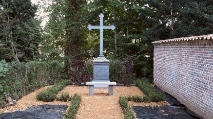 'Vergeten' kerkhof in ere hersteld