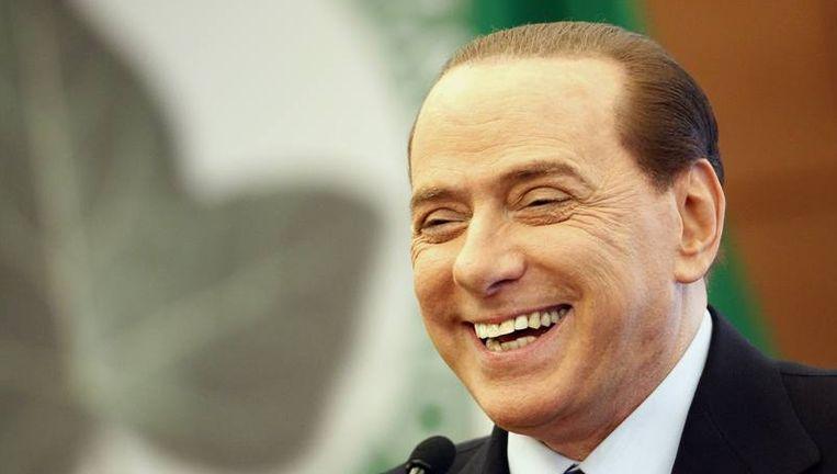 Italiaanse premier Berlusconi. Beeld reuters