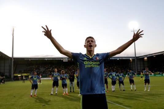 Wouter Burger (18) maakte woensdagavond tegen Fortuna Sittard zijn debuut in de eredivisie.