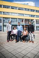 Studenten uit india op de HAN.