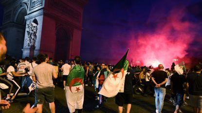 Plunderingen in Parijs na Afrika Cup-winst Algerije