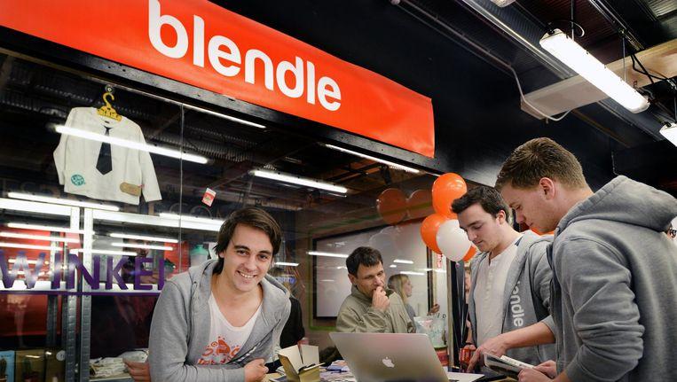 Alexander Klöpping (links) noemt het 'hoopvol' dat meer dan een miljoen mensen bereid zijn te betalen voor kwaliteitsjournalistiek Beeld anp