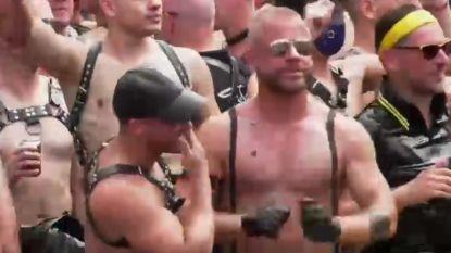 VIDEO. Holebi's feesten op water in Amsterdam tijdens Canal Parade