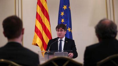 Puigdemont een jaar geleden opgepakt, Catalaan wil strijd blijven verder zetten als Europees parlementslid