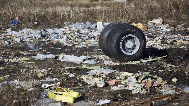 De rampplek van de de MH17, beeld van november 2014. Beeld anp