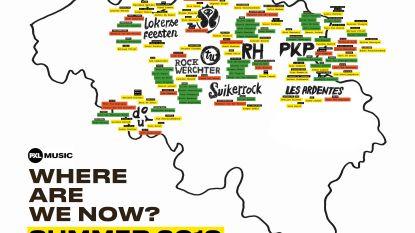 Alumni en studenten PXL-Music geven Belgische festivalzomer mee vorm