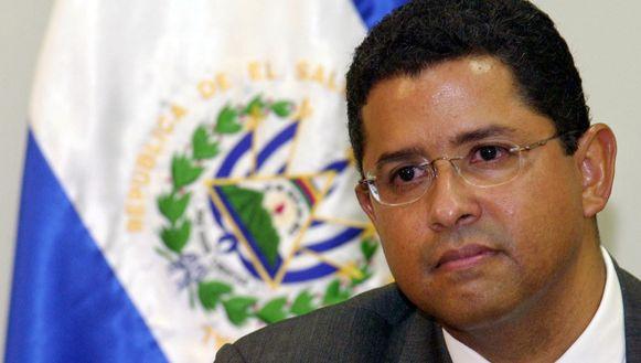 De voormalige president van El Salvador Francisco Flores.