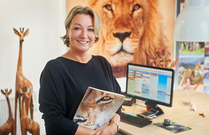 Marielle Henzen van VakantieXperts TravelTeam in Oss hoopt dat Floortje Dessing als ambassadeur de belangen van de reisbranche onder de aandacht gaat brengen.