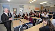 Herman Van Rompuy leert leerlingen HHC over Europa