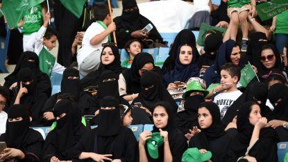 Mijlpaal: Saoedische vrouwen mogen vrijdag voor het eerst naar het voetbal