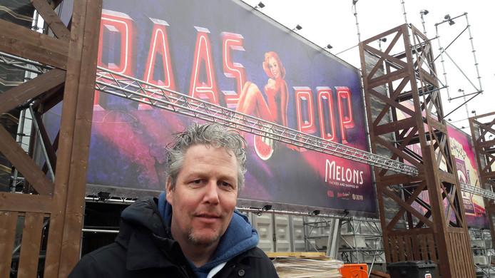 Directeur Peter Sanders van Paaspop.