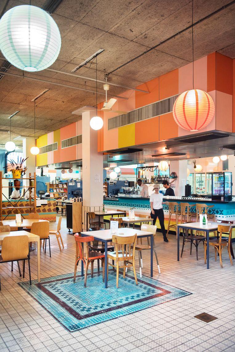 Restaurant A Beautiful Mess in de voormalige Bijlmerbajes. Beeld Els Zweerink